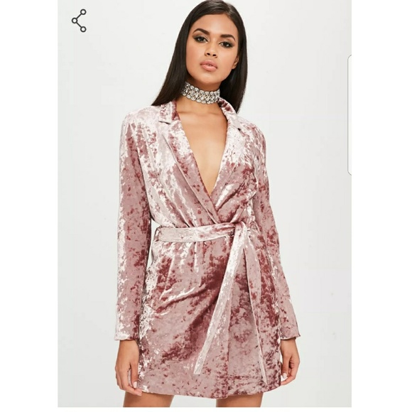 reliable reputation best cheap cheap sale Carlo Bybel Pink Velvet Robe dress NWT